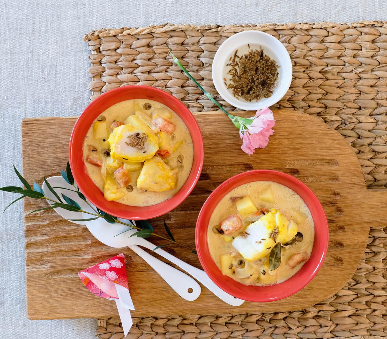Indonesisches Fisch-Curry