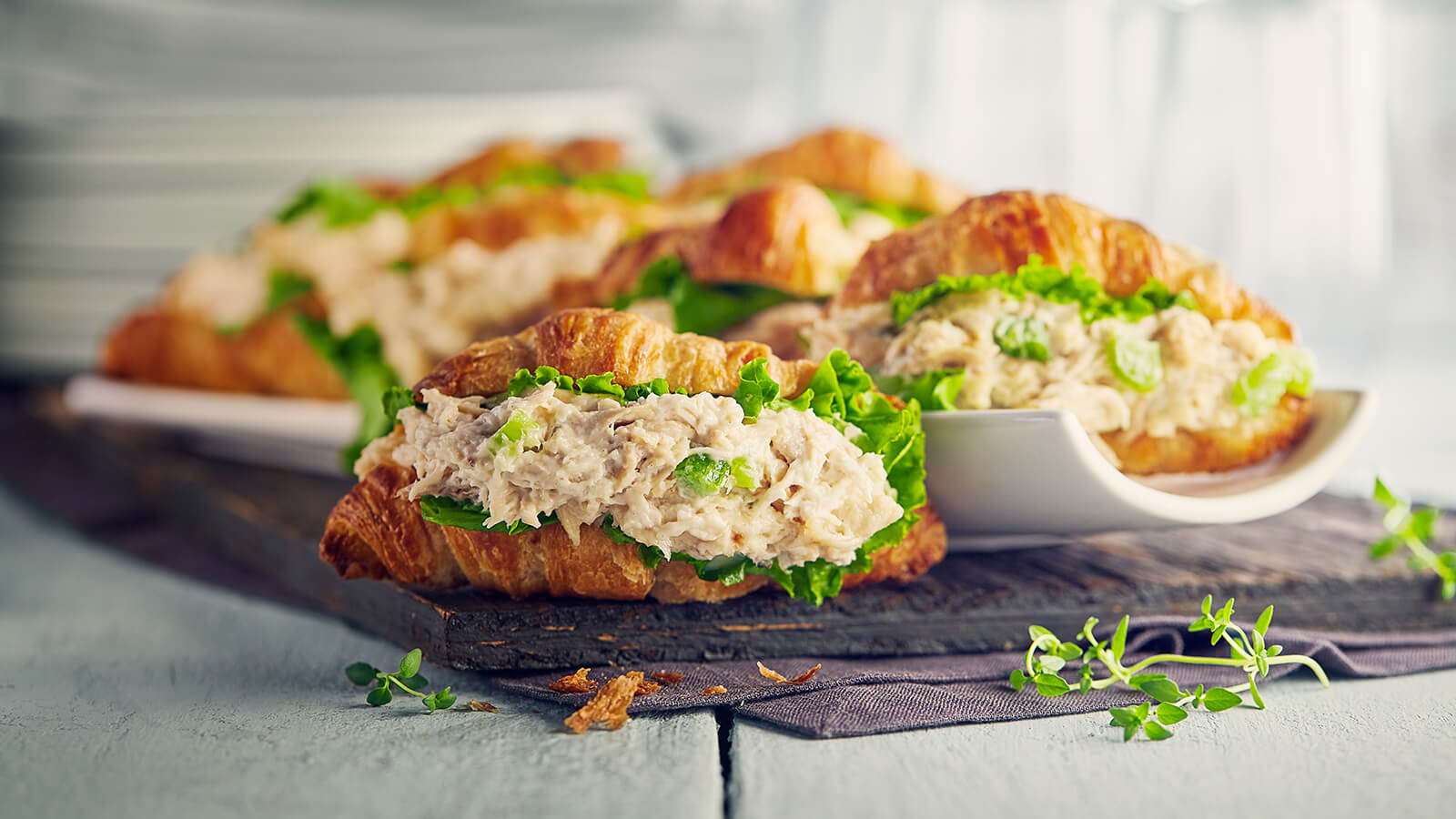Chicken Salad And Croissants Party Platters In Store Pickup