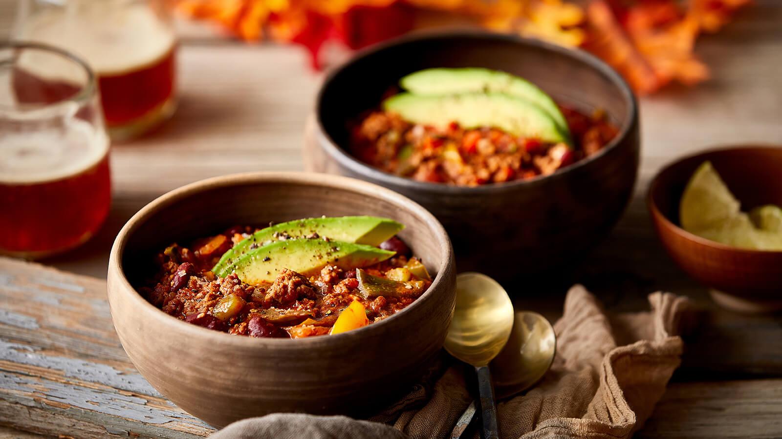 Easy Weeknight Beef Chili Recipe The Fresh Market