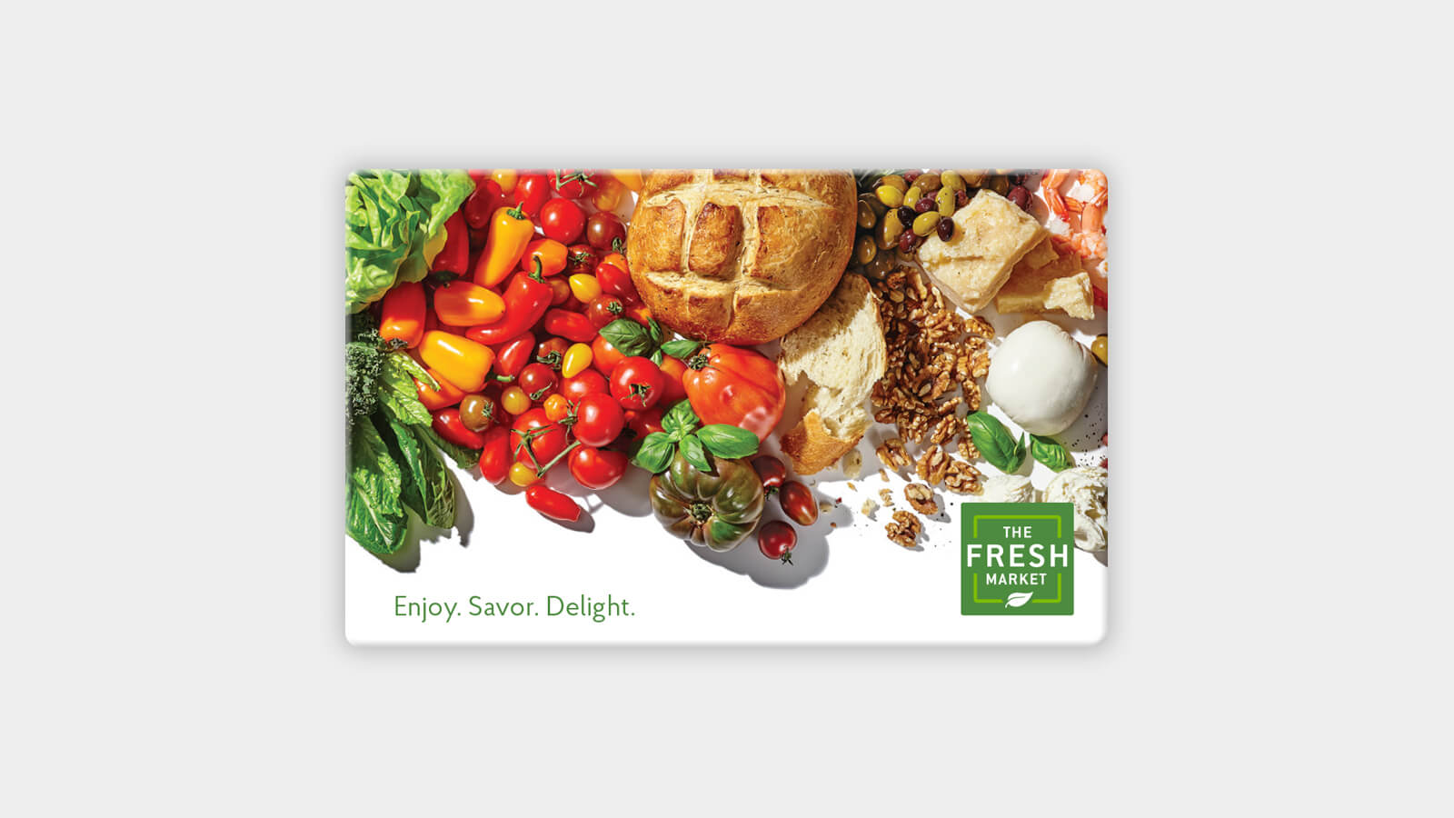 graphic relating to Deal a Meal Cards Printable identify The Refreshing Market place Present Card - items - Shipping and delivery - The Refreshing Industry