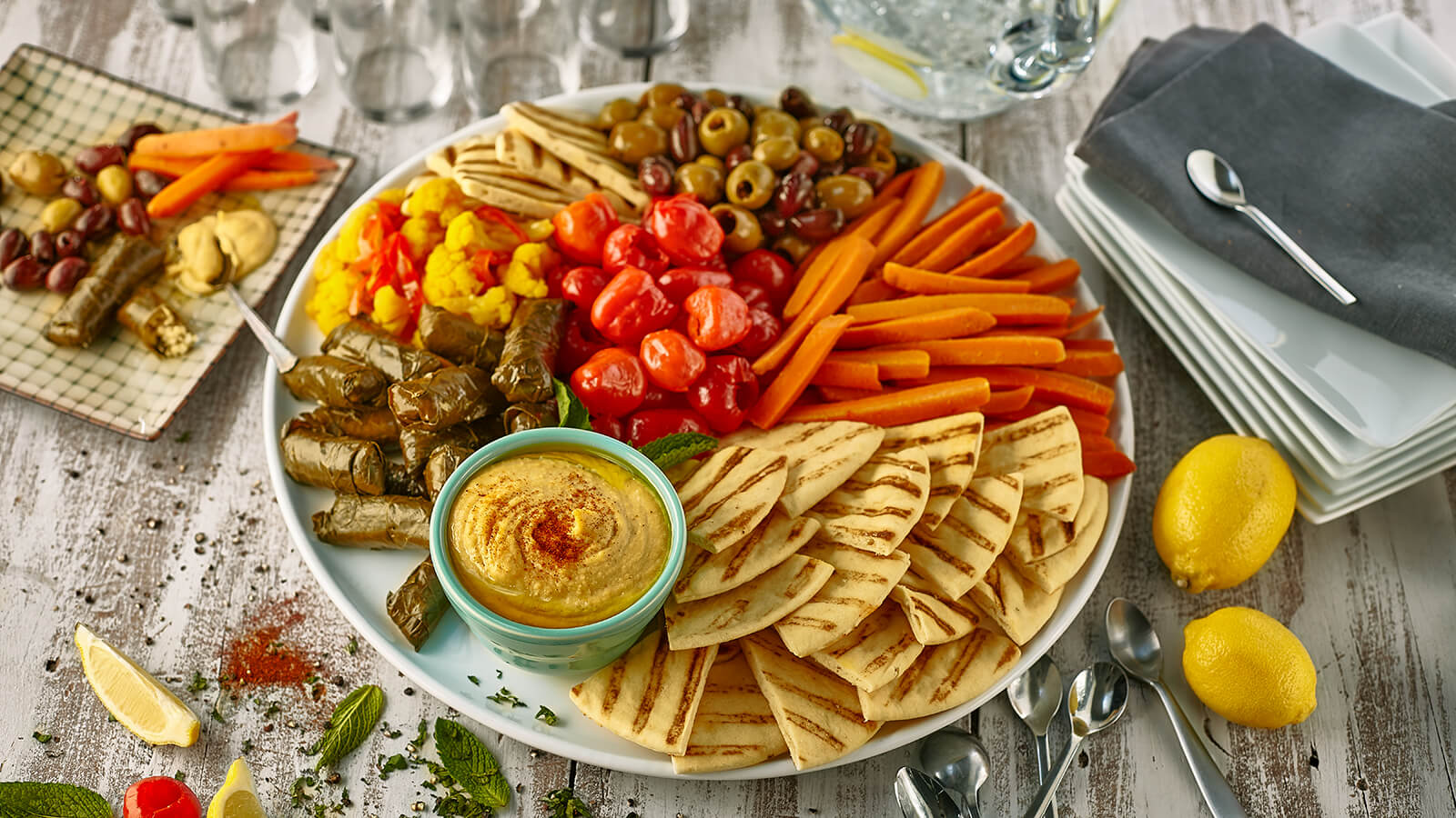 mediterranean platter party platters in store pickup the fresh