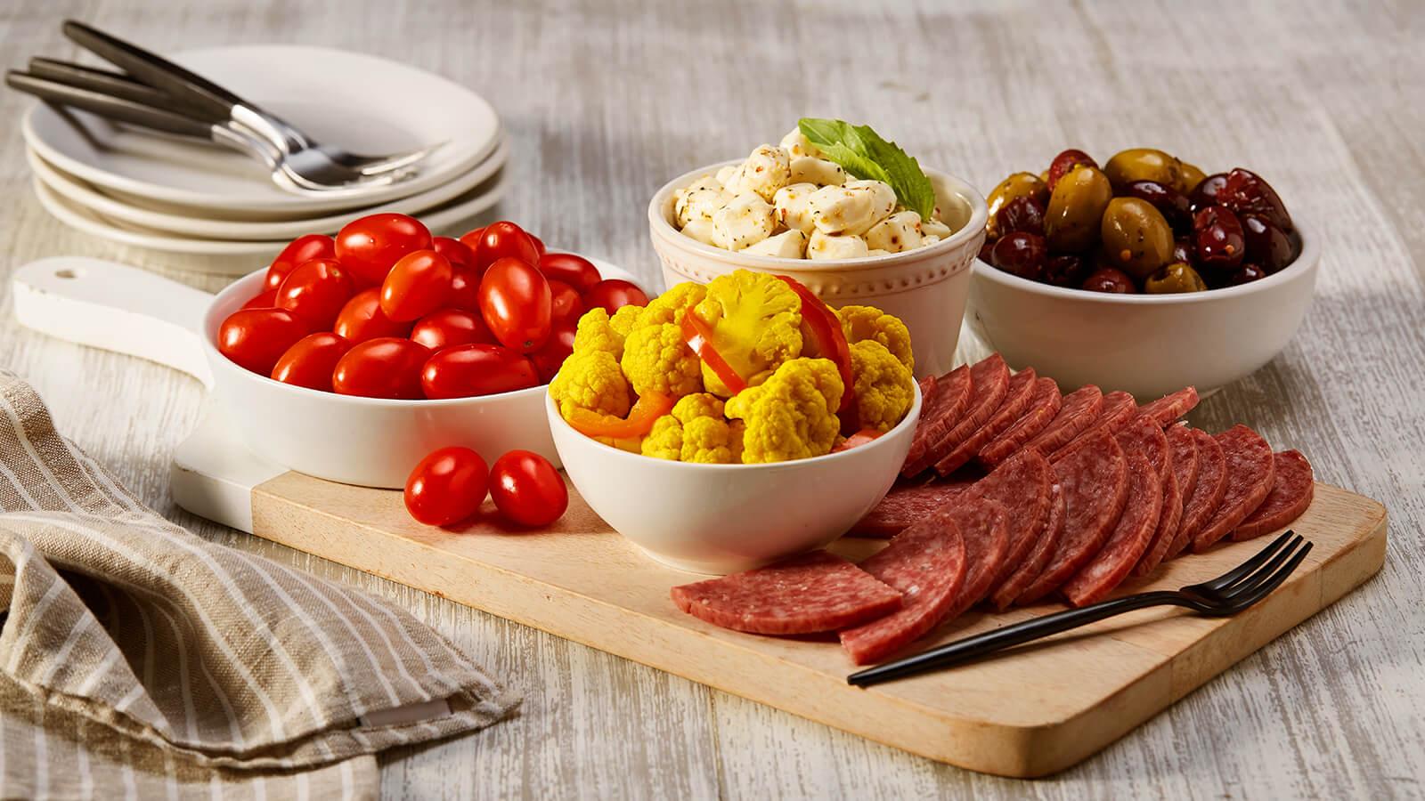 Italian Antipasto Platter Online Ordering