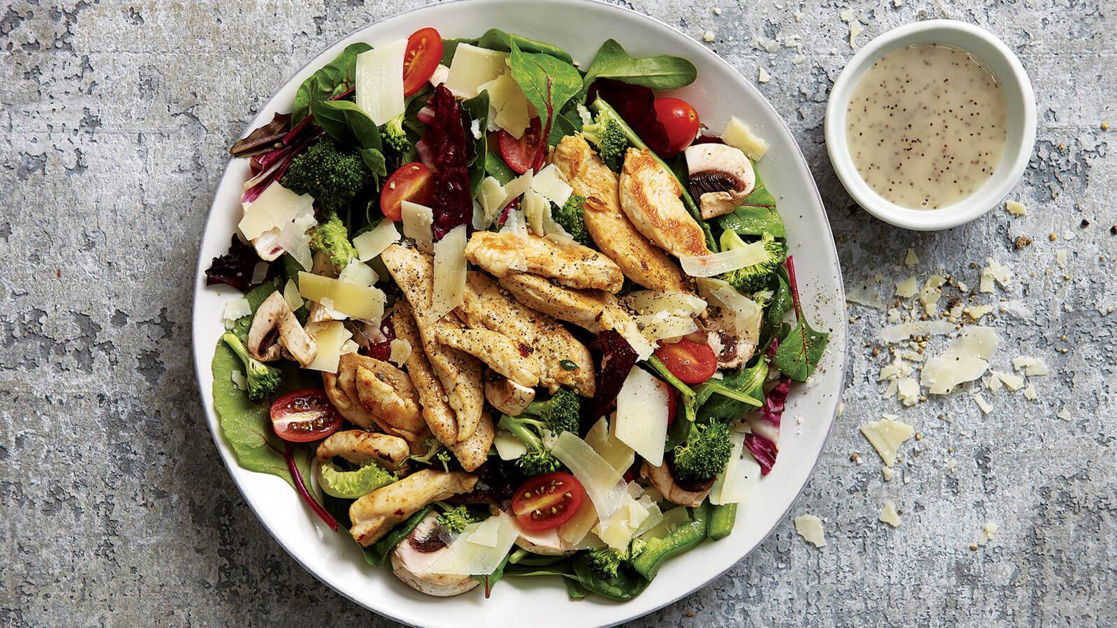 Warm Chicken Salad With Poppyseed Dressing Recipe The Fresh Market