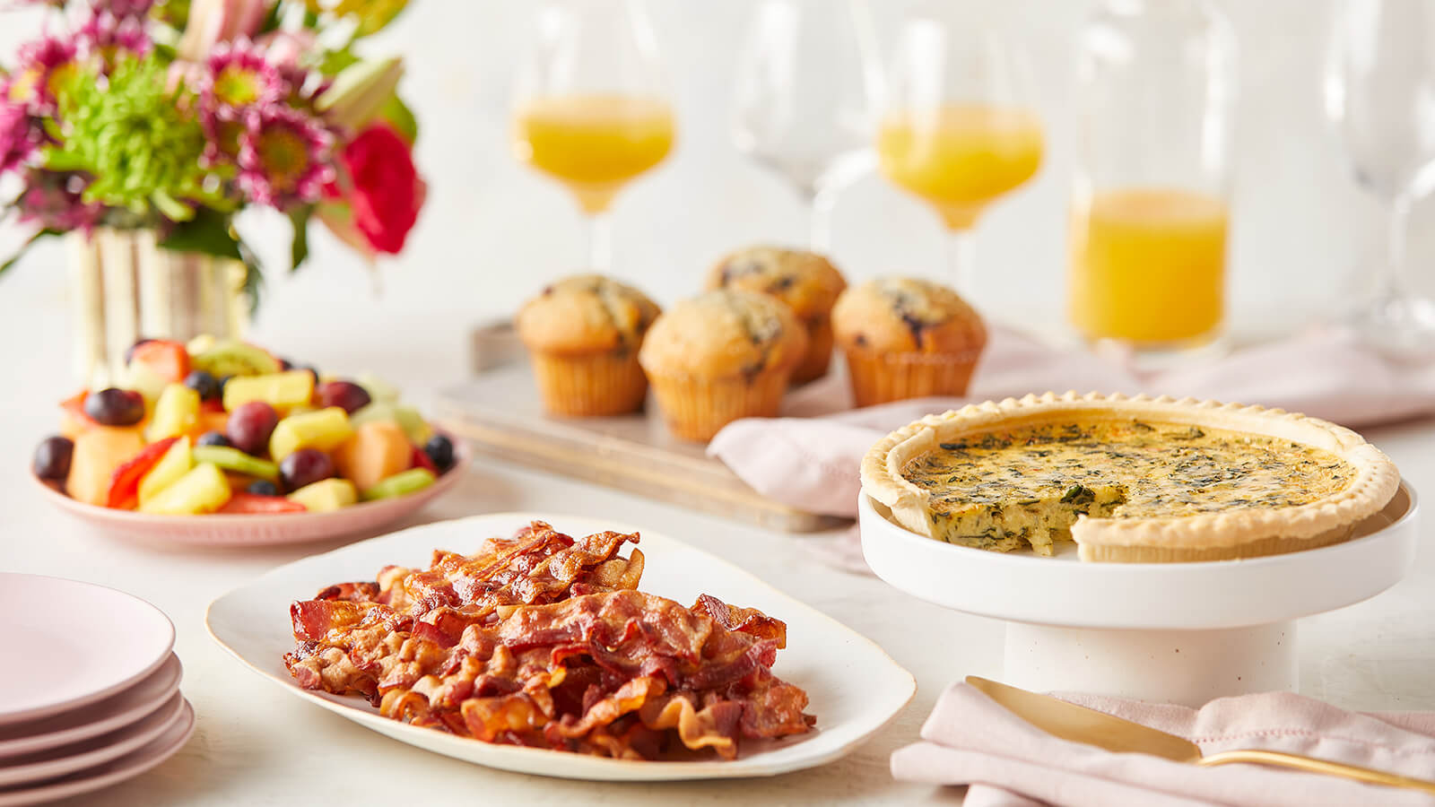 Mother S Day Brunch Broccoli Cheddar Quiche Holiday Meals In Store Pickup The Fresh Market