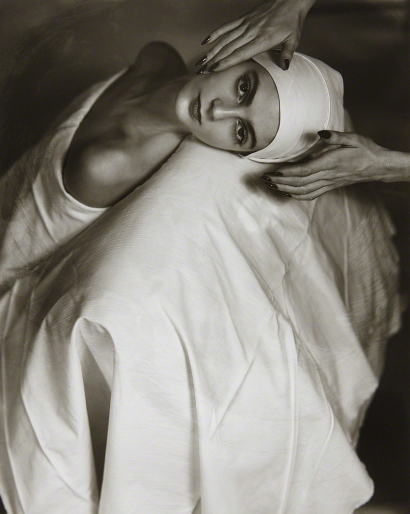 Horst p. horst   carmen face massage  new york   1946