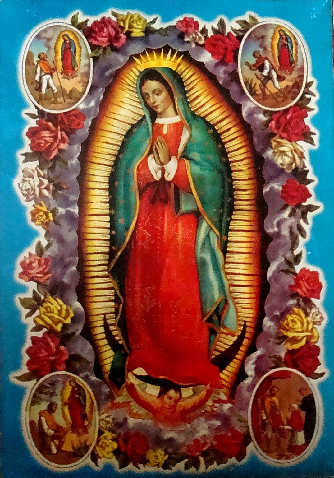 Our lady of guadalupe   mexican religious folk art