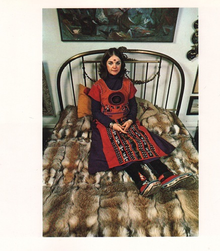 Laurel burch in  native funk   flash   1974