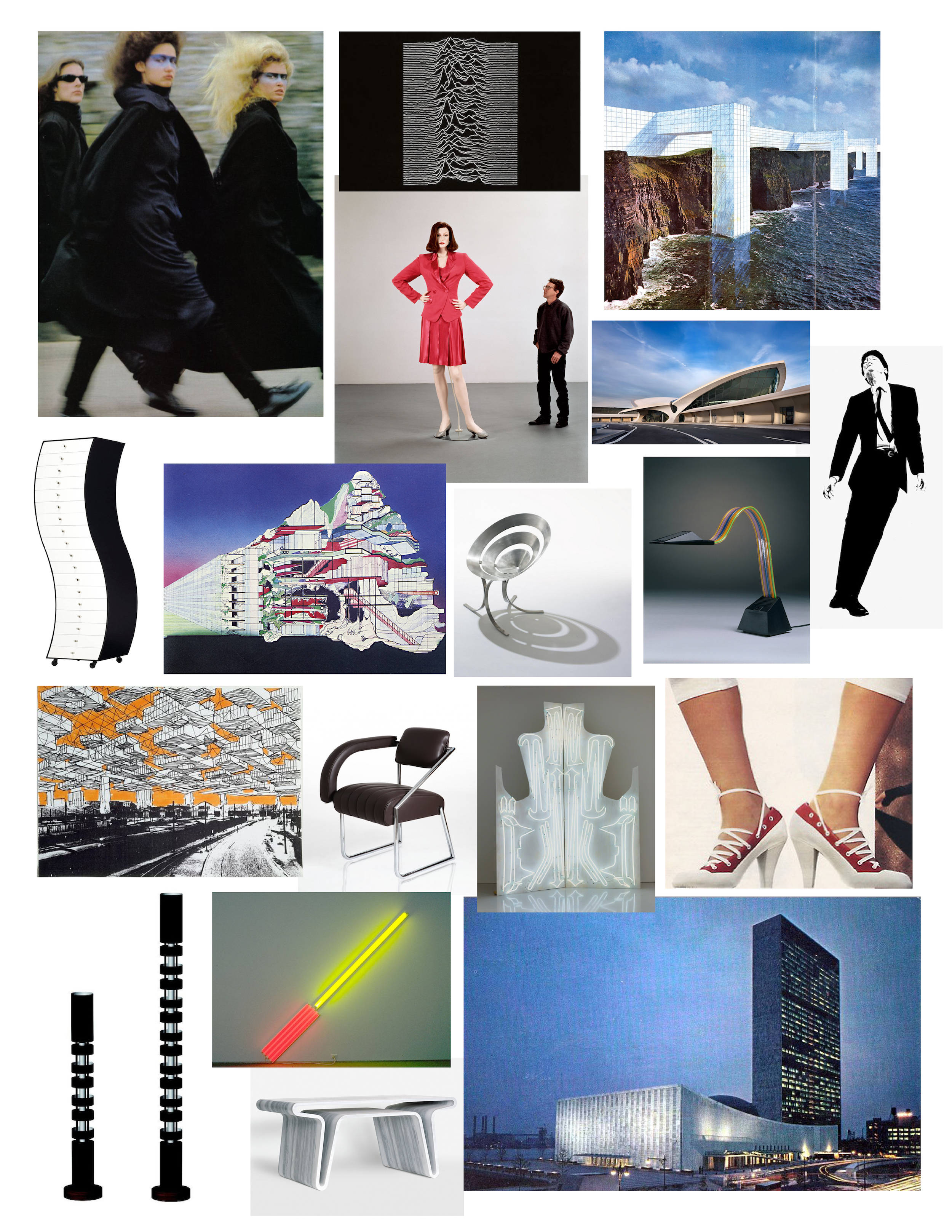 Balenciaga fw 2012 mood board
