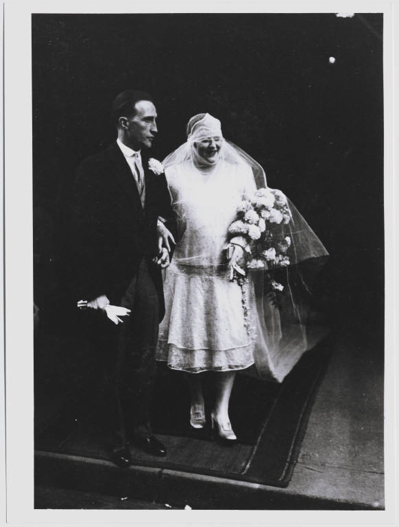Marcel duchamp with his bride  lydia levassor