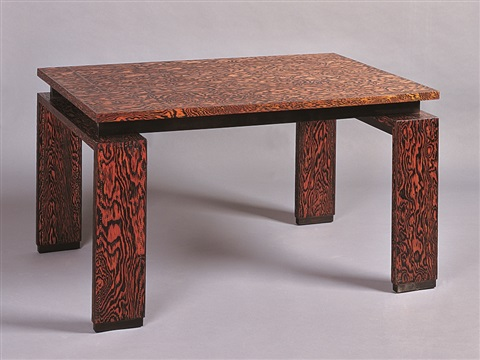 Andre sornay  dining table  1930s