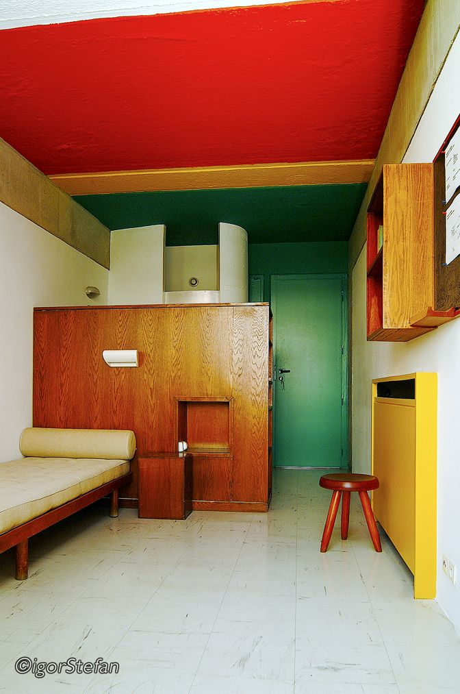 Le corbusier  student housing  maison du bre  sil  paris