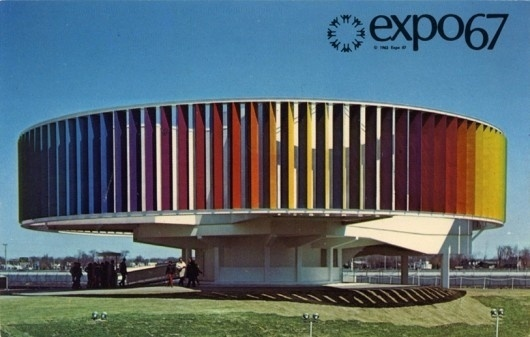 The kaleidoscope  on notre dame island. expo 67  montre  al  que  bec  canada ii