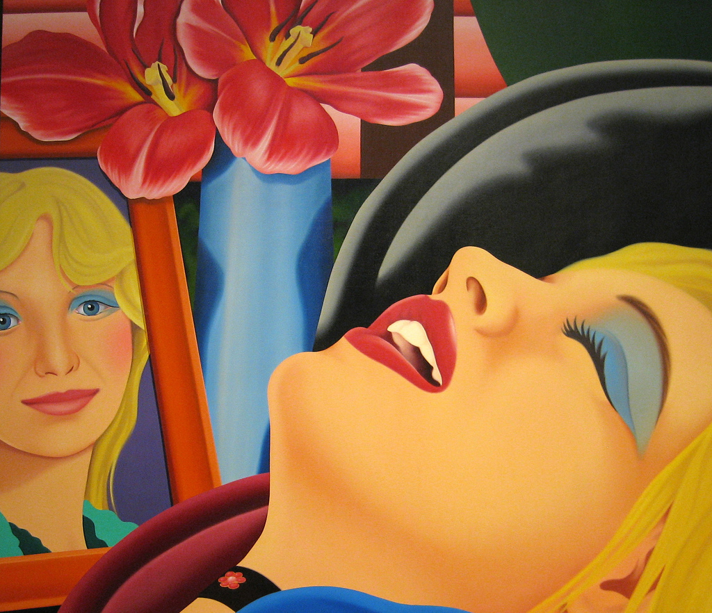 Tom wesselmann   bedroom painting  38  1977