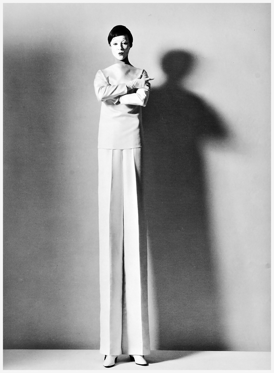 Photo horst p.horst   tall fashion  1963