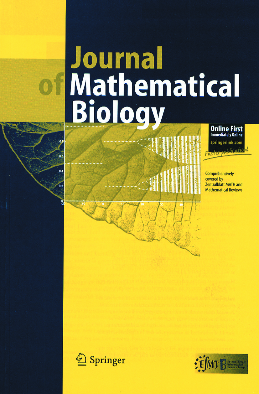 Journal of Mathematical Biology - Springer LaTeX Template