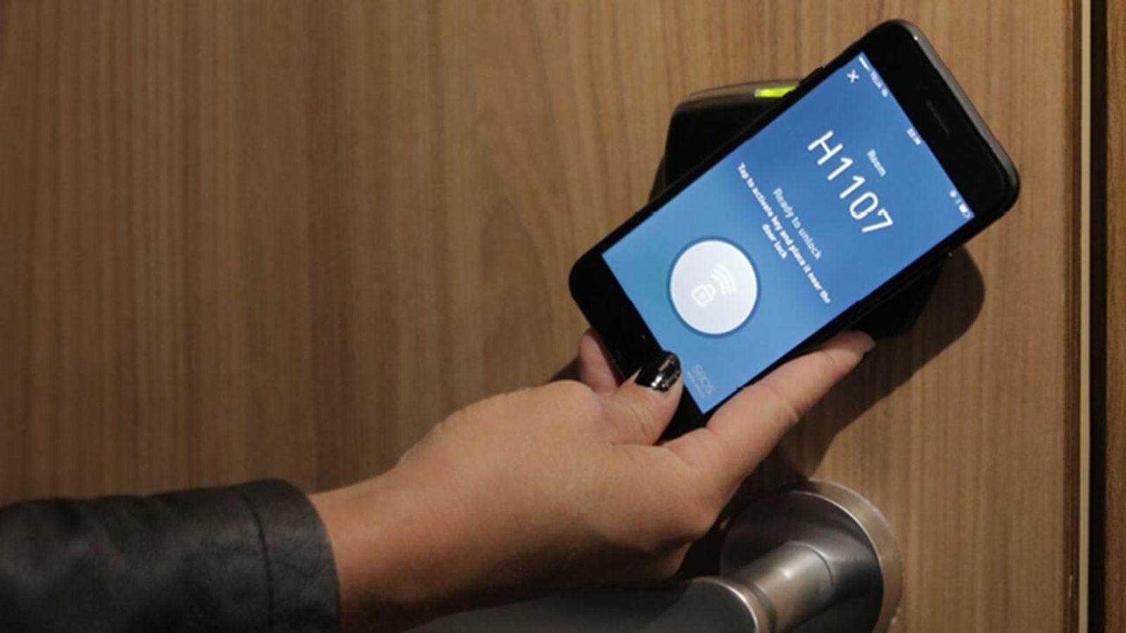 Mobile Key at Hobo