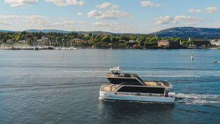 Cruiseboat on the Oslofjord