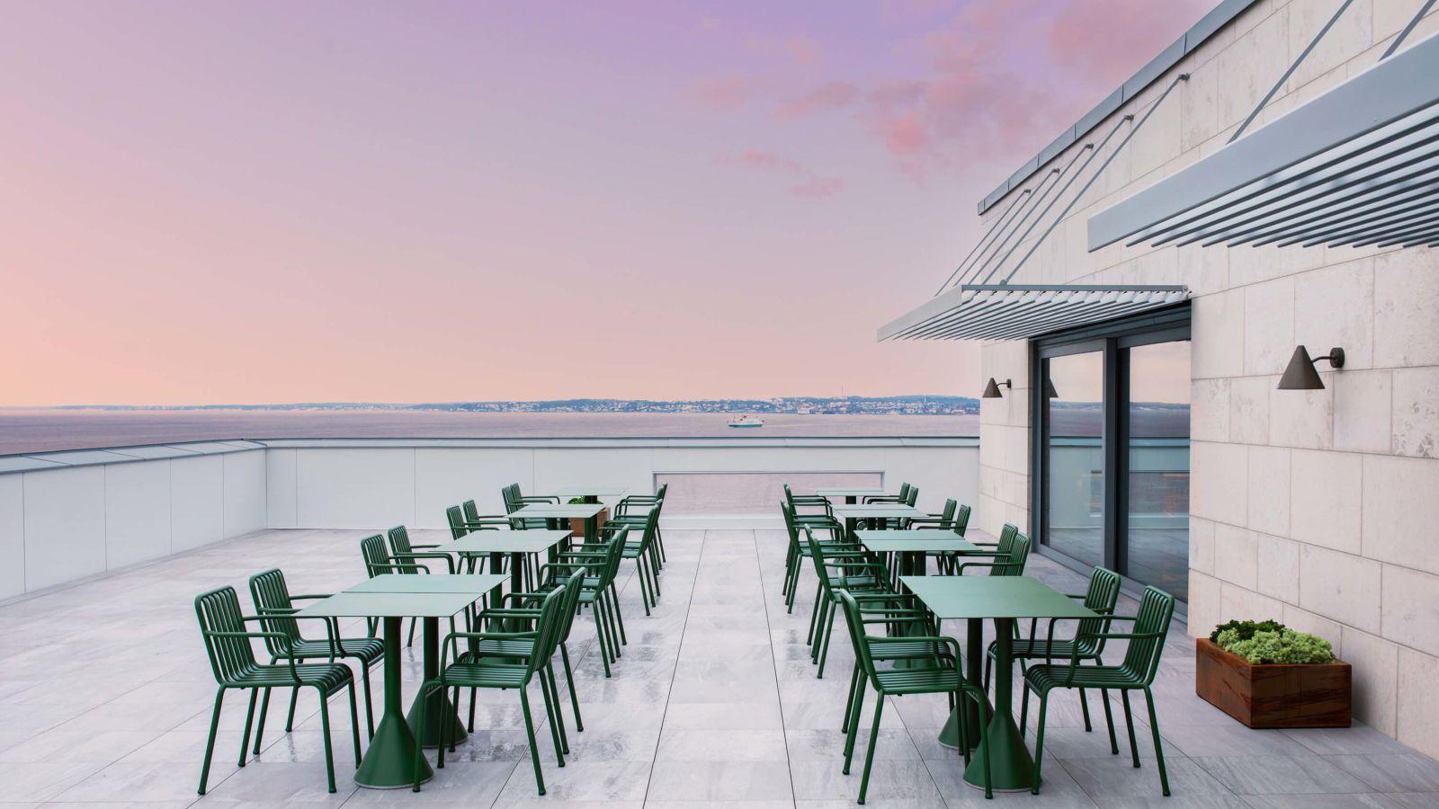 Rooftop bar at Clarion Hotel Sea U