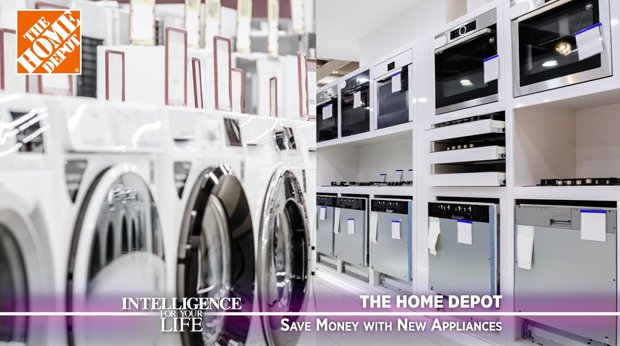 The Home Depot – Save Money With New Appliances