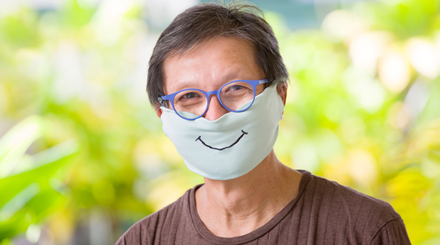 Smile When You're Wearing A Mask!