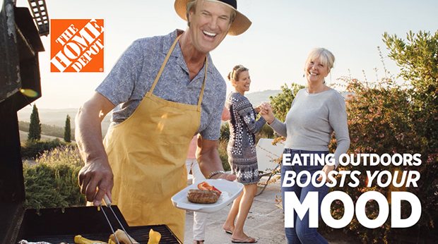 The Home Depot – Enjoy Life Outdoors