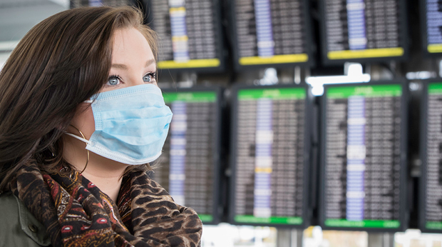 Wear A Surgical Mask To Avoid The Flu