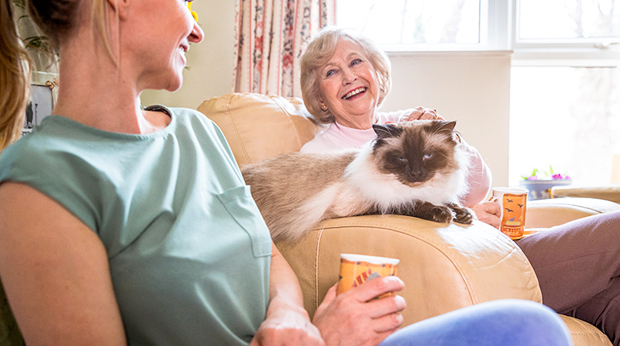 Pets Make Aging Better!