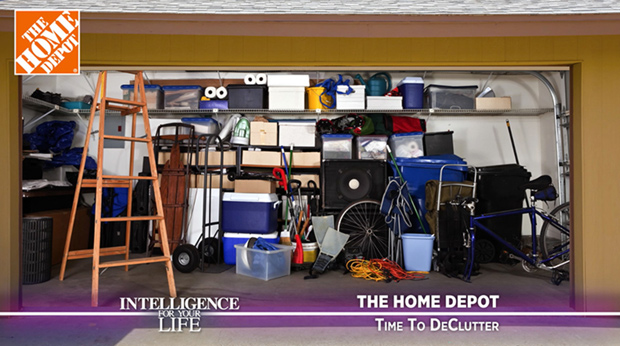 The Home Depot – Time To Declutter