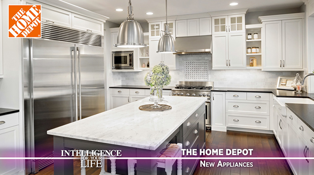 The Home Depot – Getting New Appliances