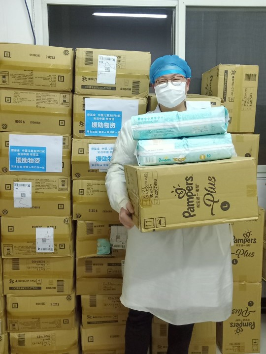Health care workers in China