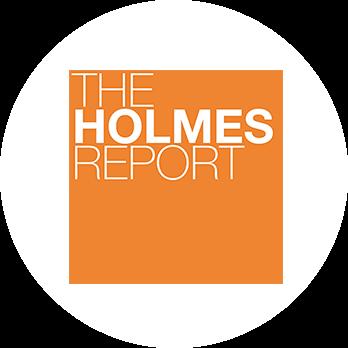 The Holmes award logo