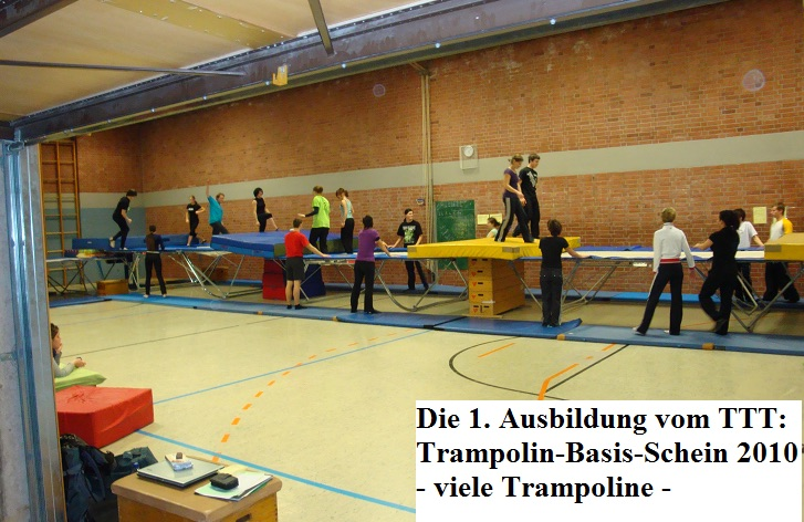 Trampolin Basis-Schein 10 in Aktion