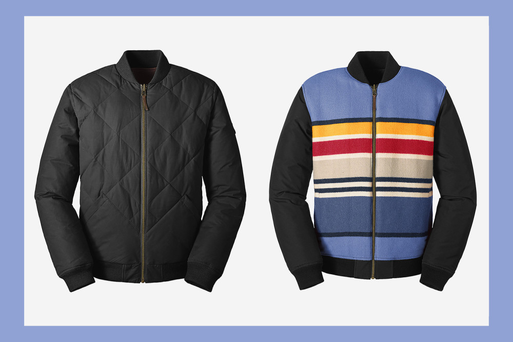 Eddie Bauer and Pendleton Reintroduce the 1936 Skyliner Jacket
