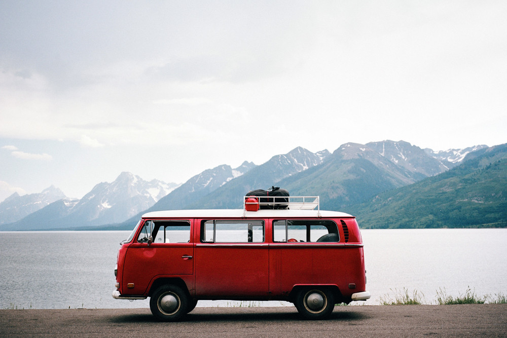 Cross Country #vanlife - Photography From a 1970 VW Bus Road Trip