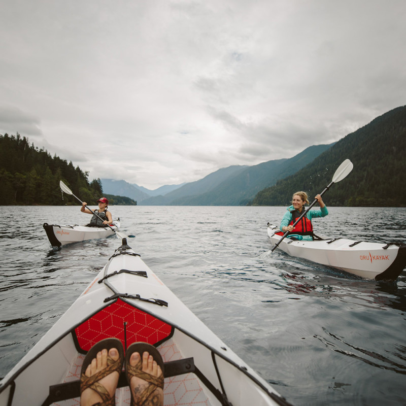 Oru Kayak I Beach LT I Faltbar I Einsitzer I tragbares Kayak I ... | 800x800
