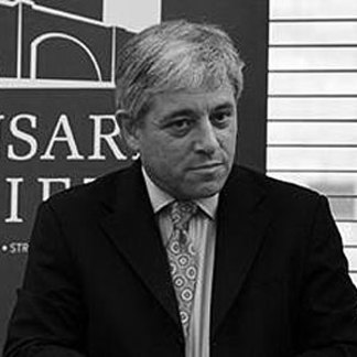 Profile photo of the Speaker of the House of Commons, The Rt Hon. John Bercow MP, UK Houses of Parliament