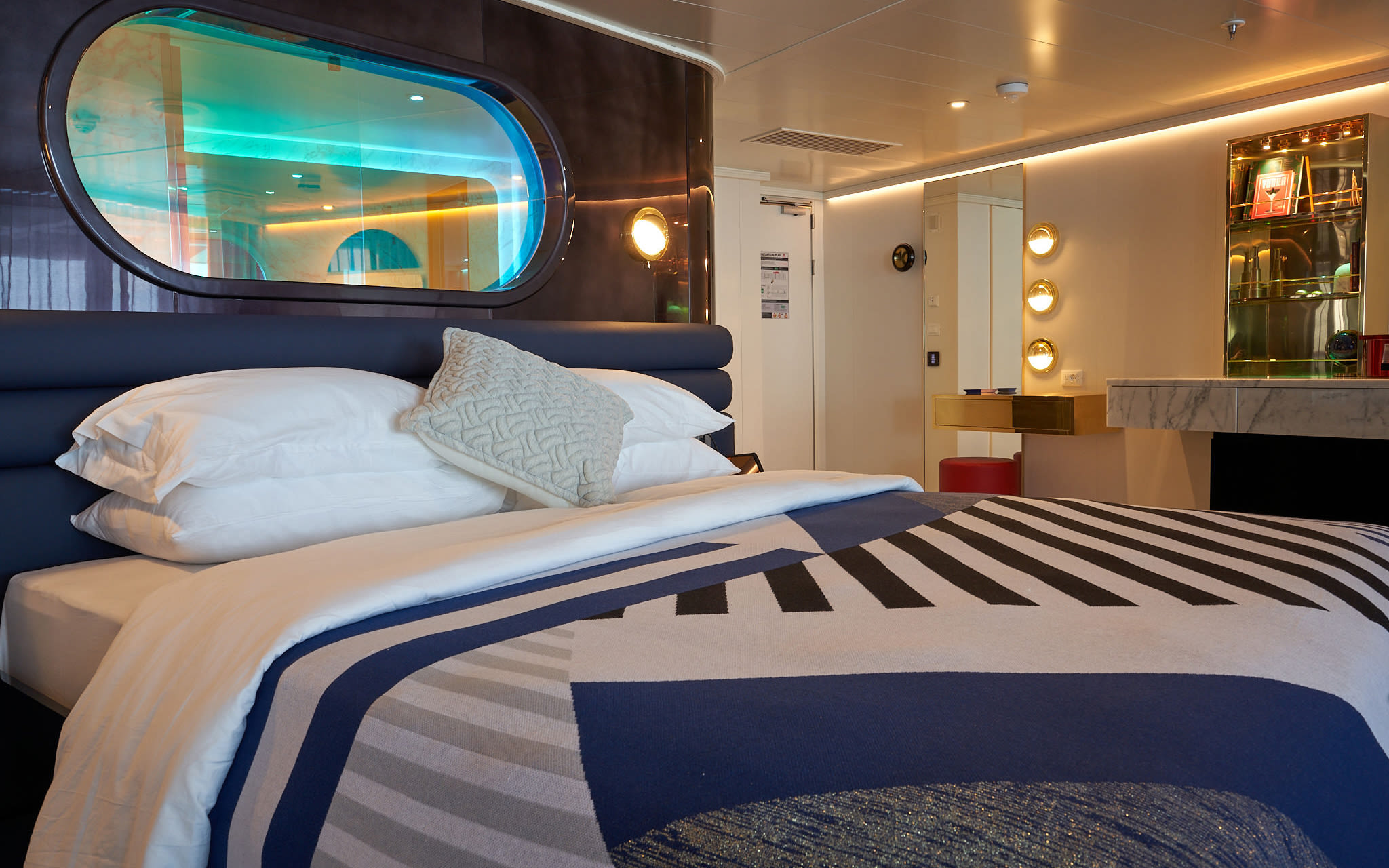 Virgin Voyages' suite