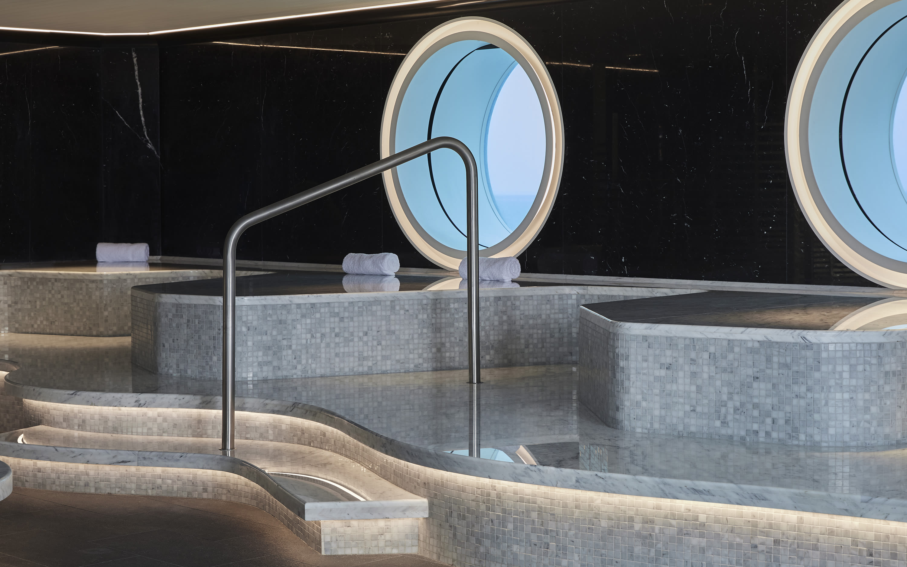 Spa on board Virgin Voyages' ship Scarlet Lady