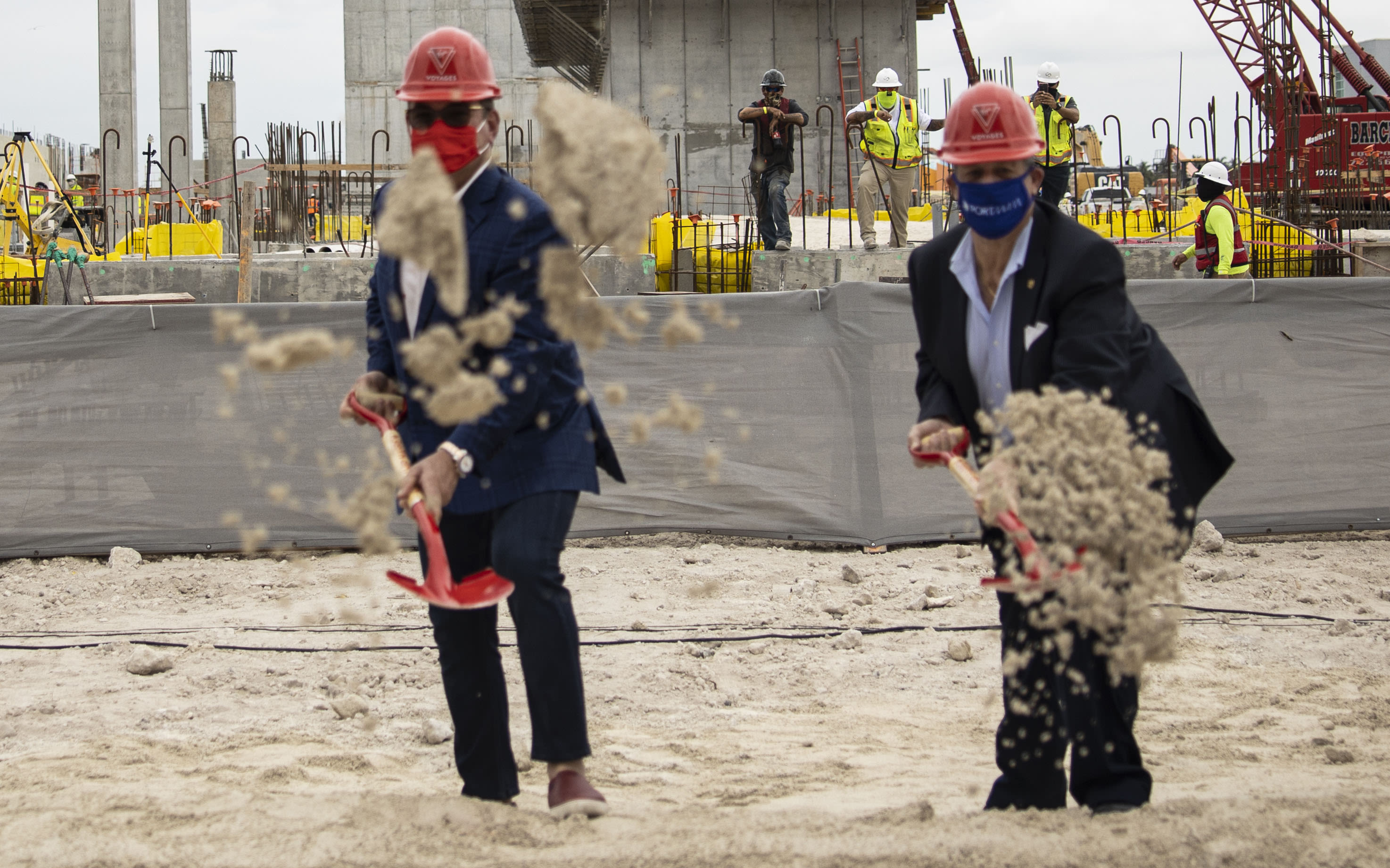 Breaking ground at PortMiami