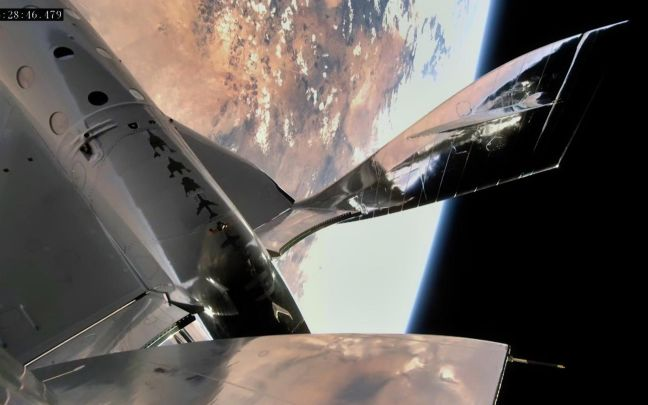 Virgin Galactic first human spaceflight from New Mexico 2021