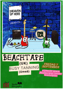 Beachtape & Busy Tanning poster