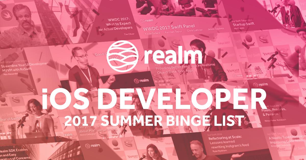 2017 iOS Developer Summer Binge List