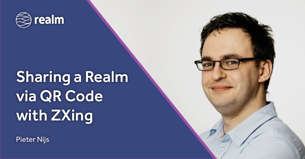 Sharing a Realm via QR Code with ZXing