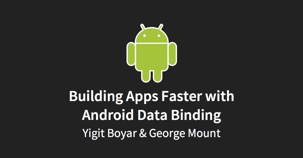 Android Data Binding
