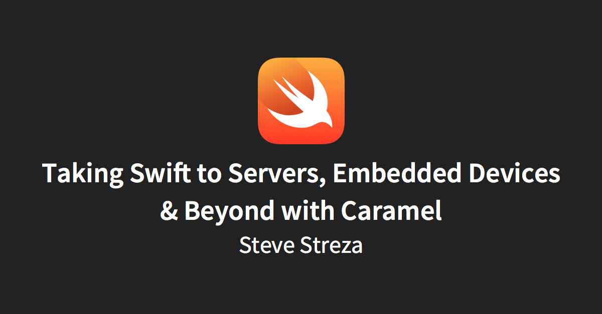 Caramel for Swift