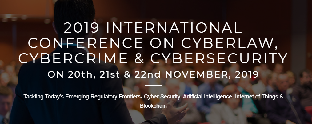 2019 International Conference on Cyberlaw, Cybercrime