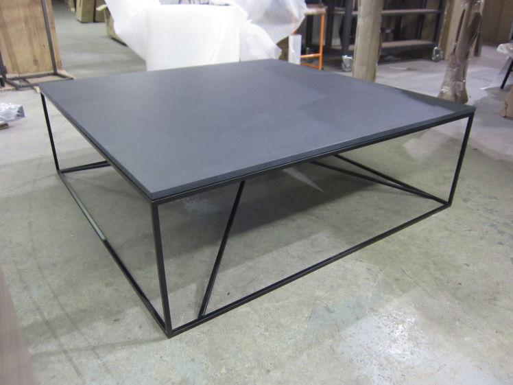 Custom Metal-Frame Coffee Table | Stylegarage
