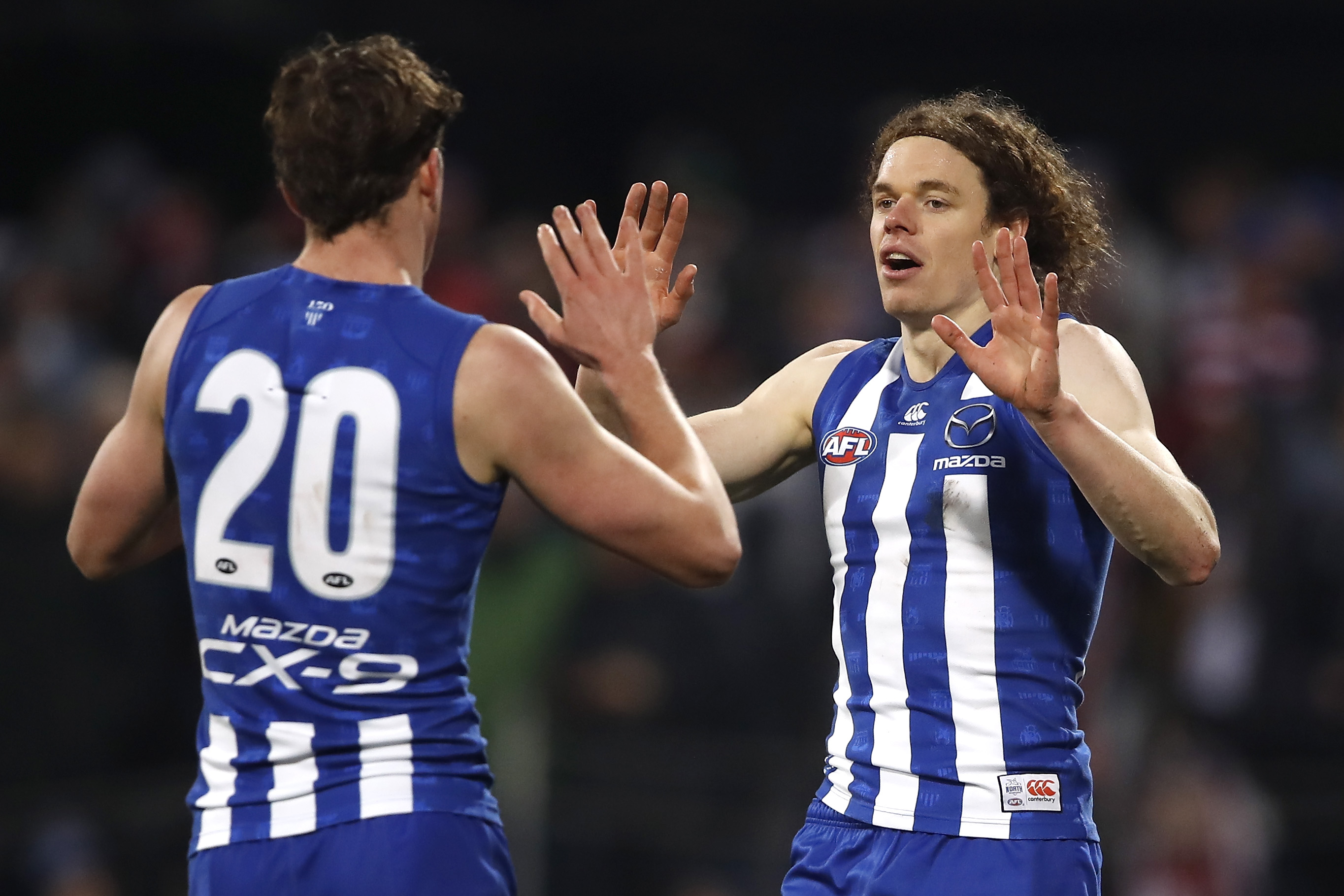 Ben Brown Nick Larkey North Melbourne