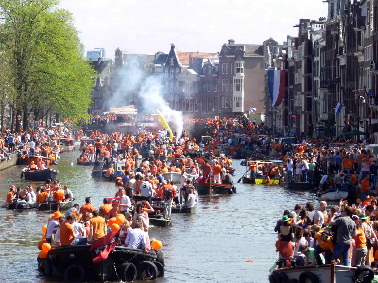 11 Ways to Survive King's Day in Amsterdam