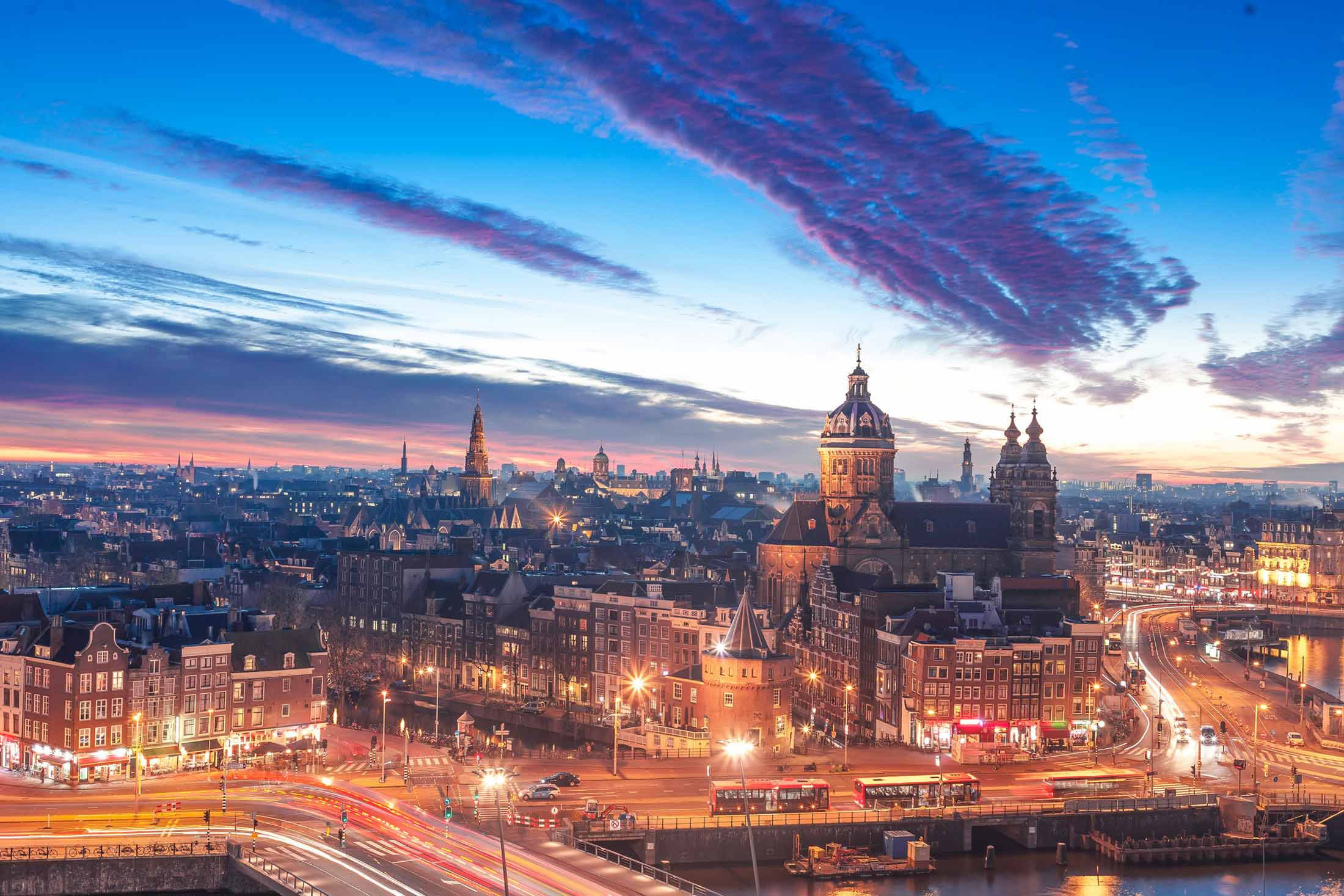 Where to Get the Best Views in Amsterdam